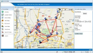 GPS-Online-Tracking-System
